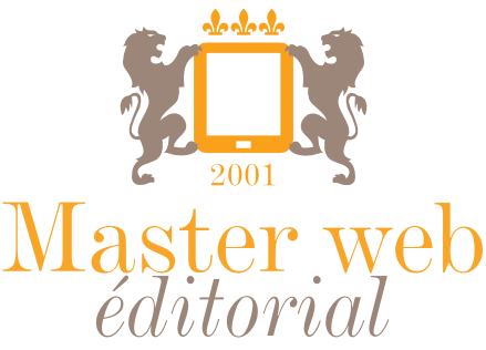 Master Web Éditorial